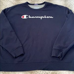 Men's champion crew neck 2xl
